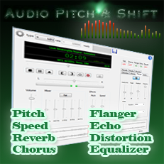 Audio Pitch and Shift