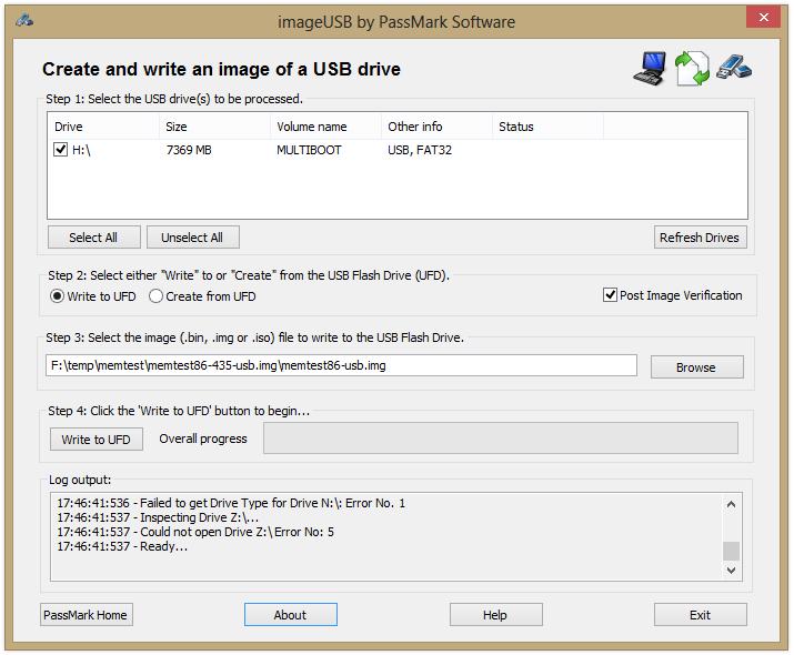 Скачать программу для проверки памяти флешек