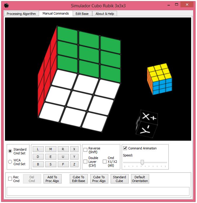 Программа для кубика рубика
