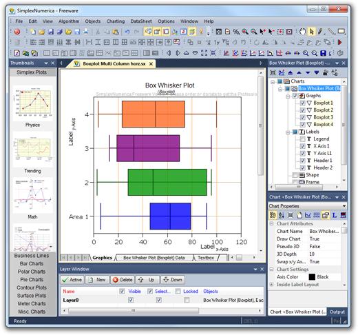 Программу с графиками и диаграммами